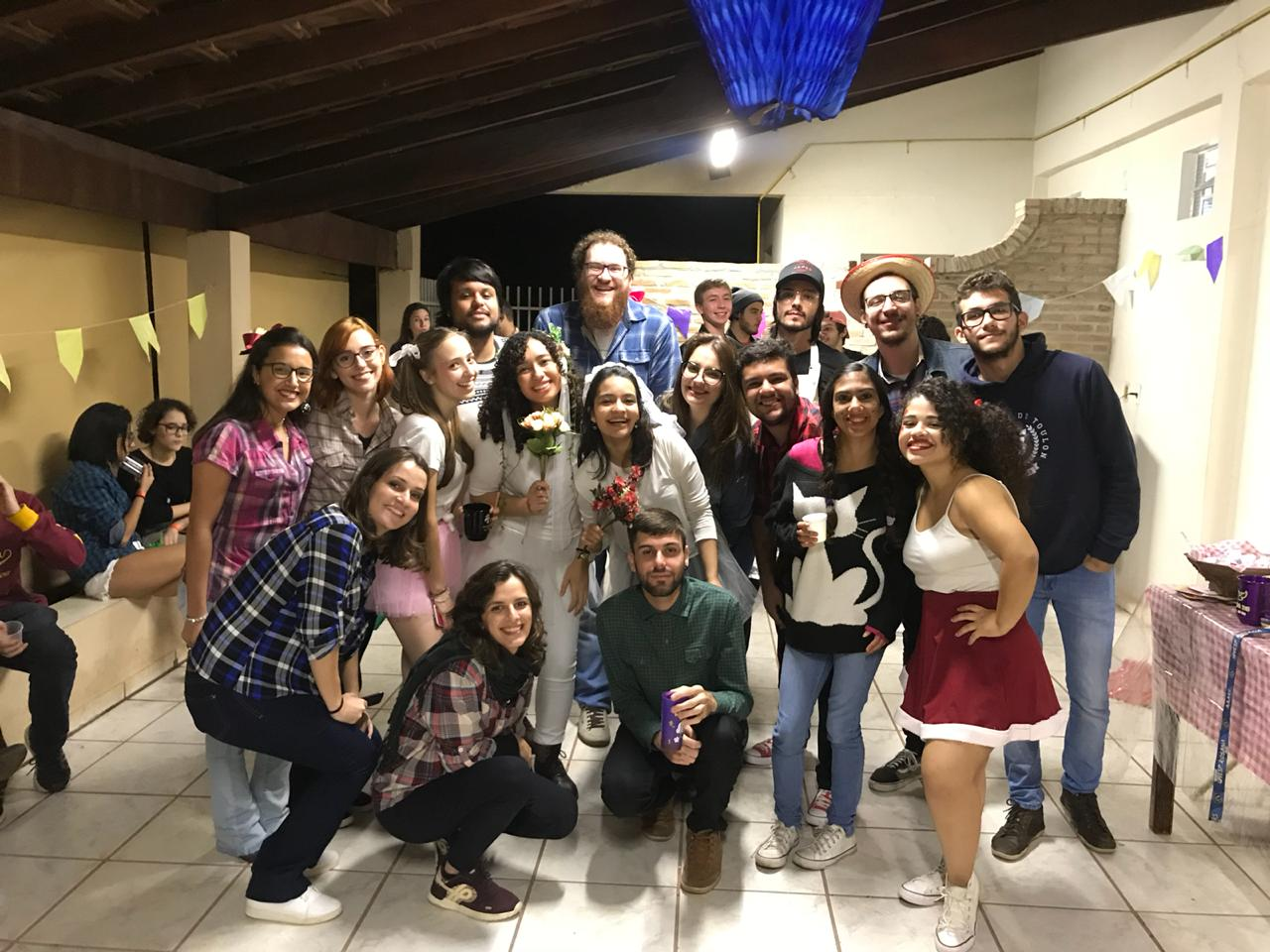 Professores na Festa Junina do Vitoriano 2019